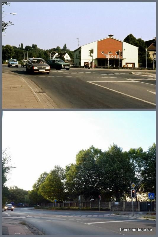 "Kino ""Globe""/""The Flix"" – Süntelstraße Ecke Basbergstraße in Hameln"