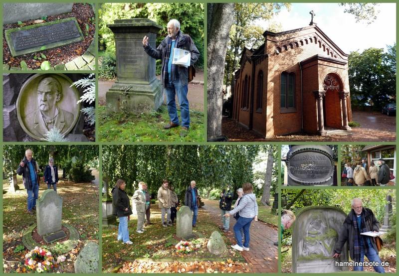 Wenn Grabsteine reden wird's spannend! Deisterfriedhof Hameln