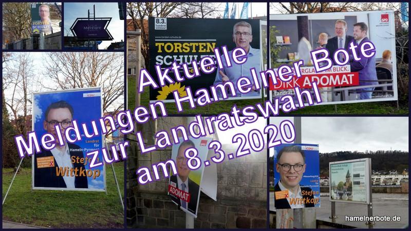 Wahlergebnisse und Infos zur Landratswahl am 08.03.2020