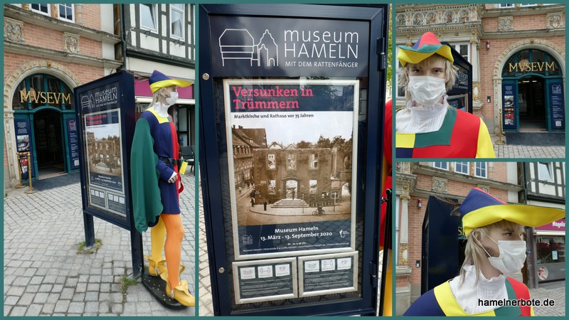 Sonderausstellung im Museum Hameln wieder zugänglich. Ein Kurzbericht.