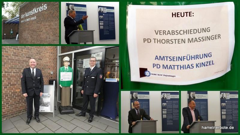 Führungswechsel der Dienststellenleitung der Polizeiinspektion Hameln-Pyrmont/Holzminden.
