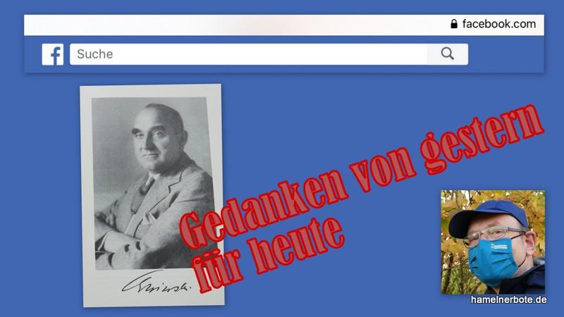 Ein Nachdenktext: Albert Grzesinski und Ängstlichkeit in Hameln heute.