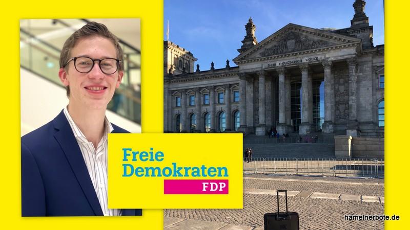 Der FDP Bundestagskandidat wurde nominiert! Presseinfo des Kreisverbandes Hameln-Pyrmont