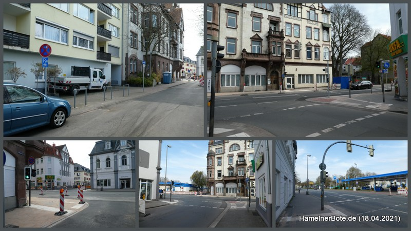 Falkestraße/Lohstraße: Verbesserung für Fußgänger und Radfahrer