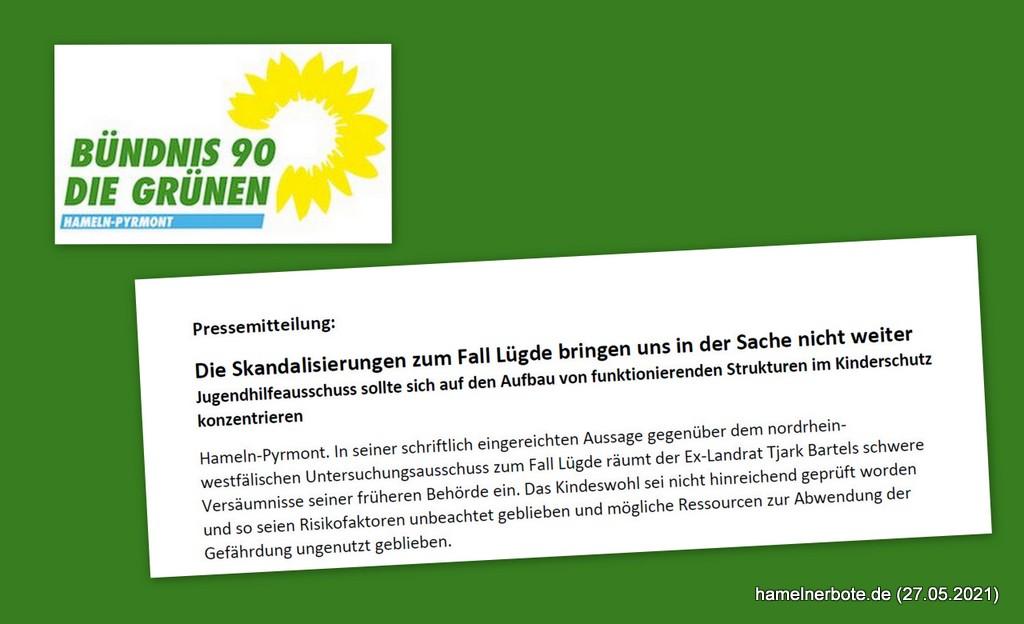 Pressemeldung B90/Grüne: Die Skandalisierungen zum Fall Lügde bringen uns in der Sache nicht weiter