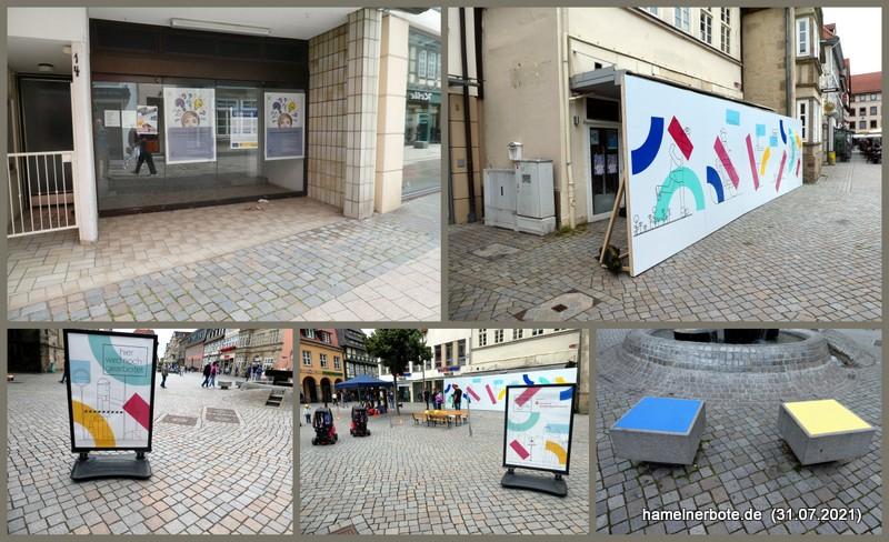 Investition in Werbung fürs Einkaufen in Hameln.