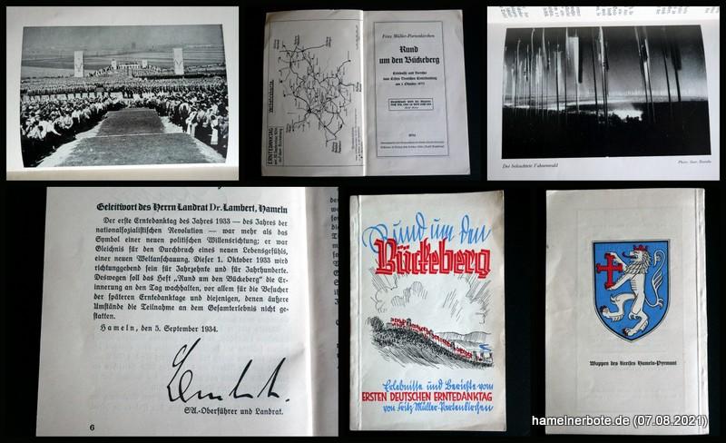 """NS-Broschüre: """"Rund um den Bückeberg"""" von 1934 – Auszüge"""