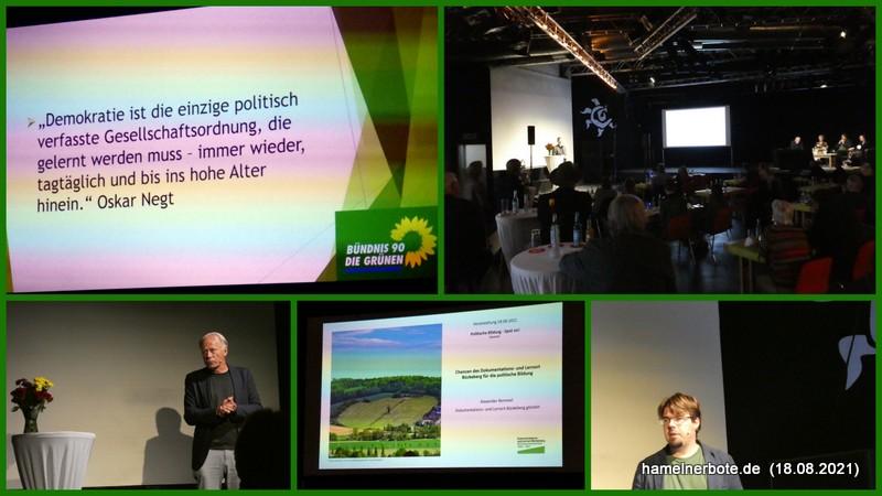 MdB Trittin in Hameln – Thema Demokratieschutz in der Sumpfblume und viele kamen.
