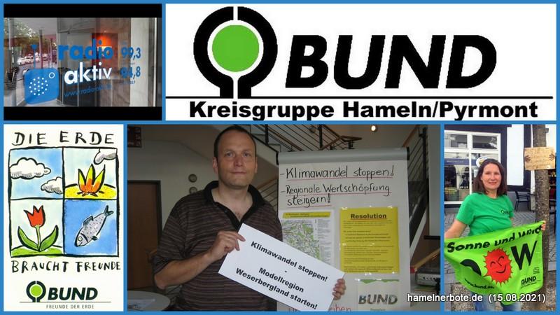 Sachstand Klimaschutz im Weserbergland aus Sicht des BUND Hameln: Radio Aktiv Nachgefragt vom 15.08.2021