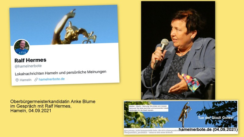 Vorgestellt: Anke Blume, Oberbürgermeisterkandidatin der FDP für die Stadt Hameln