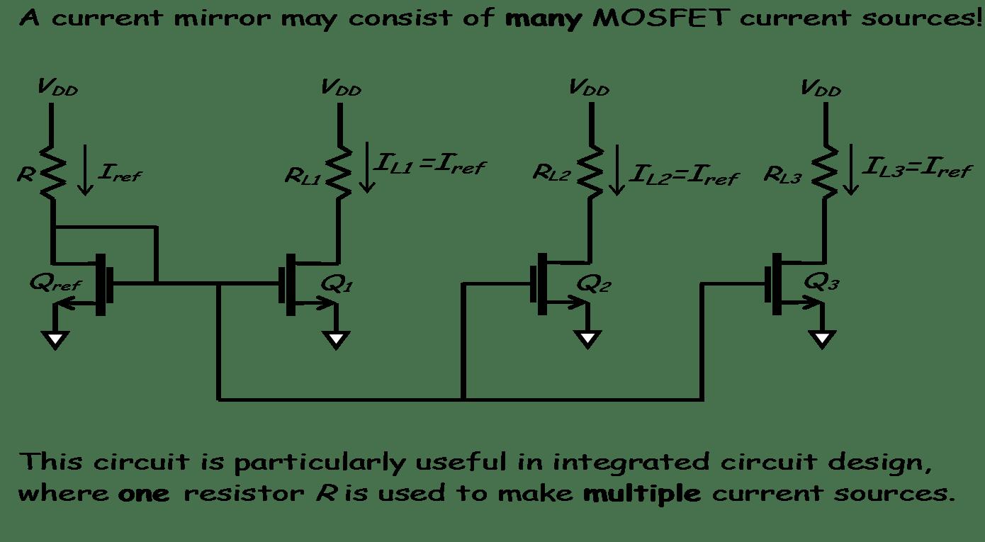 Mosfet Current Steering Circuit Design