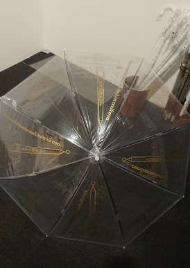 『ポリュフィルス狂恋夢』のハイセンスな傘
