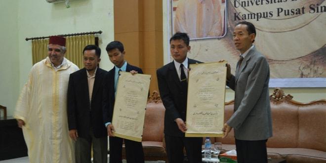 Seminar dan Pemberian Ijazah Khot di UNIDA Gontor