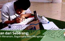 Belajar Kaligrafi; Belum Menanam Mau Mengetam?