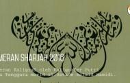 Kaligrafer Putri Indonesia di Pameran Sharjah 2016