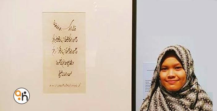 Kaligrafer Pameran Sharjah 2016 (5) Rini Yulia Maulidah