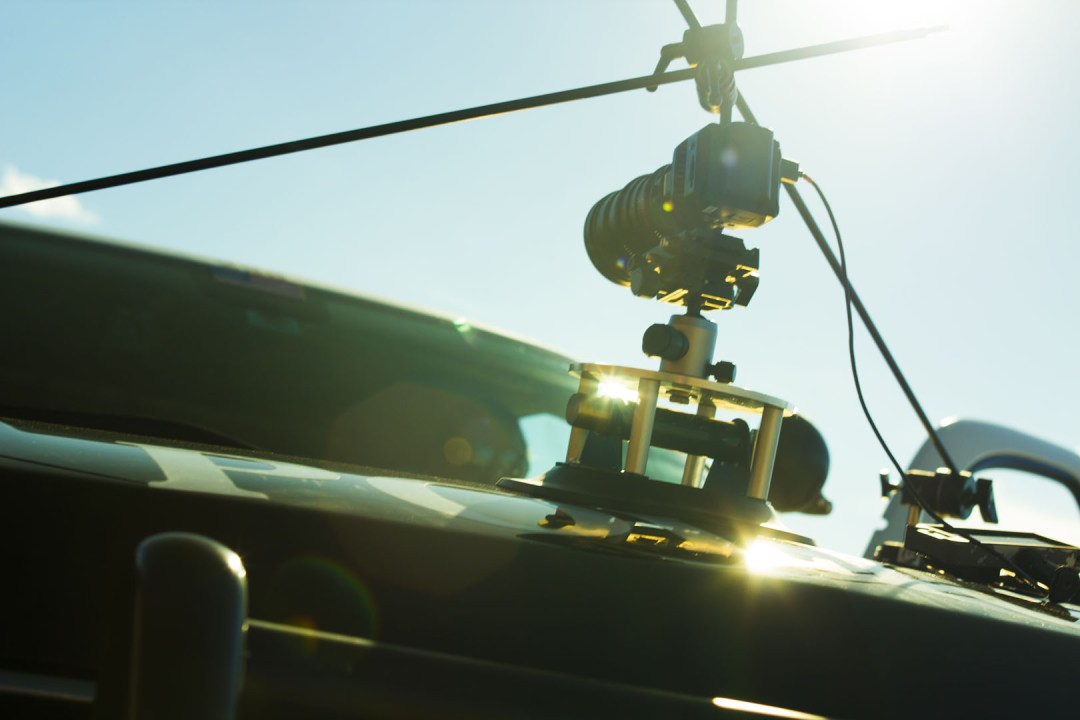 The Matthews Studios Equipment Master Car Mount and flares