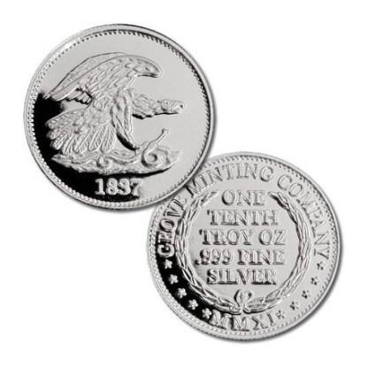 Grove Minting Commemorative Token Feuchtwanger Cent