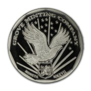 Grove Minting Commemorative Proof of the 1977 Liberty Dollar Reverse