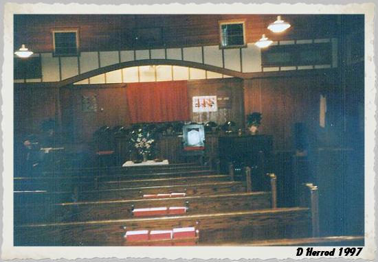 Interior of the auditorun taken around 1997.