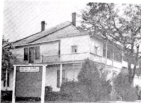 The Atkinson Hotel after it had been purchased by First Baptist Church in 1955.