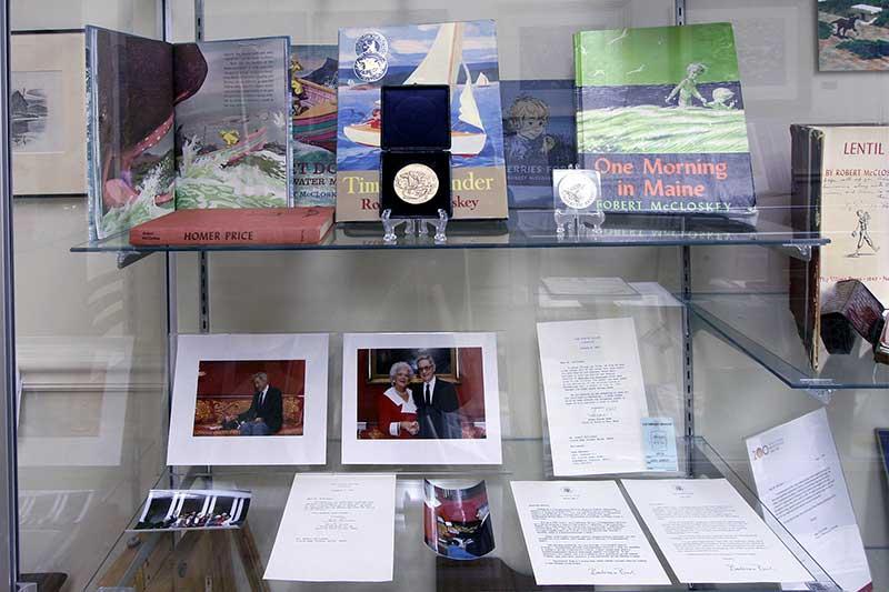 Rare Robert McCloskey Items on Display
