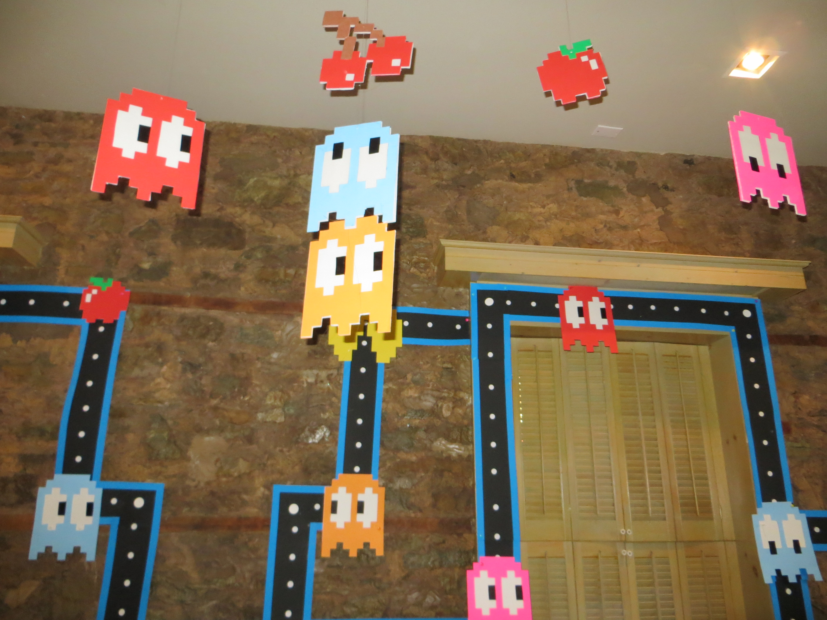 Pac Man Birthday Favors Collection Argentina Fashion