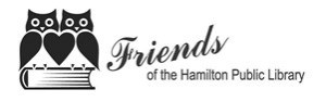 Friends of Hamilton Public Library logo