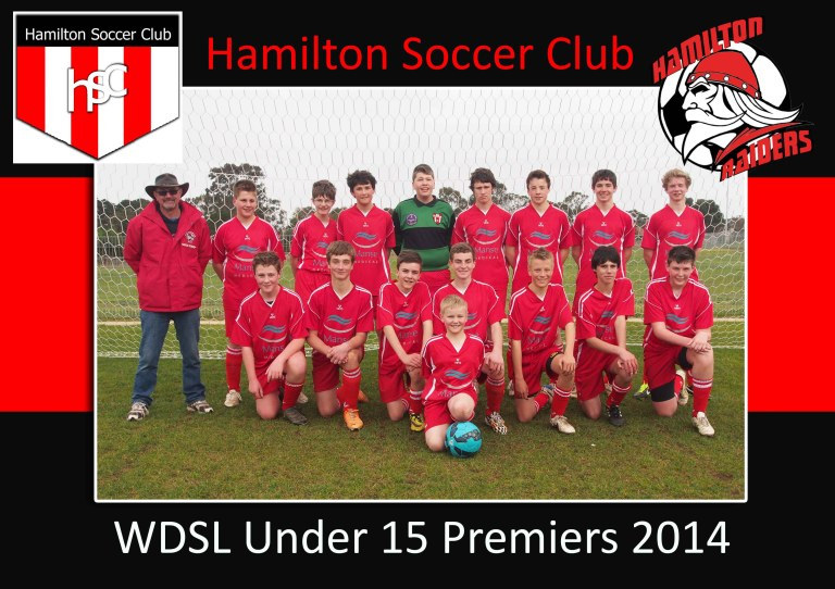 TEAM PHOTO U15 No 3 sml