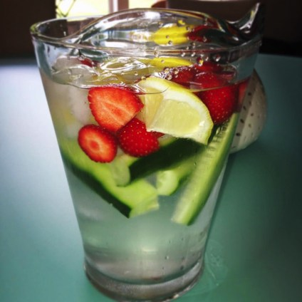 Hydration is crucial in lead up to match or exercise. Try adding fruit to encourage more fluid intake.