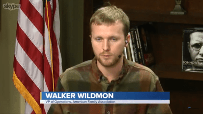 Walker Wildmon of the American Family Association Discusses 'the War on Christmas'