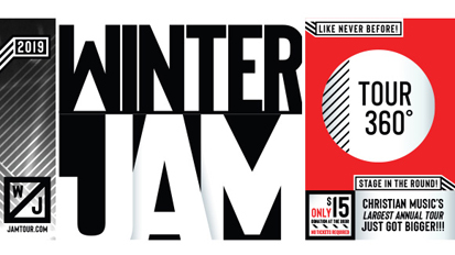 On the Road from Winter Jam with Samaritan Ministries