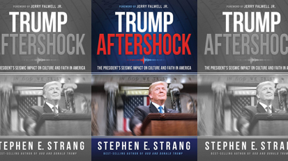 Steve Strang Talks About New Book 'Trump Aftershock' on WRFH/Radio Free Hillsdale 101.7 FM