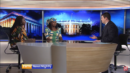 EWTN Nightly News Interviews Leah Sharibu's Mother About Her Daughter's Captivity
