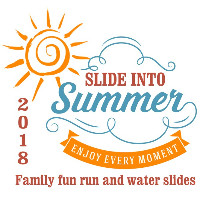 slide into summer logo proof