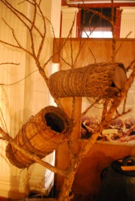 Traditional Ethiopian beehives
