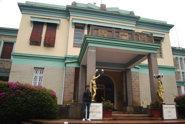 Ethnological museum in the former imperial palace
