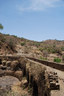 The first stone bridge in Ethiopia, with egg used to bind as was prior to invention of cement when built in 1626
