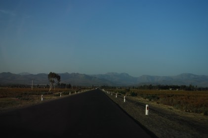 The road to Gondar, nice and new