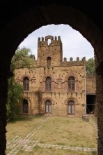 The last castle to be built, now sporting glass windows