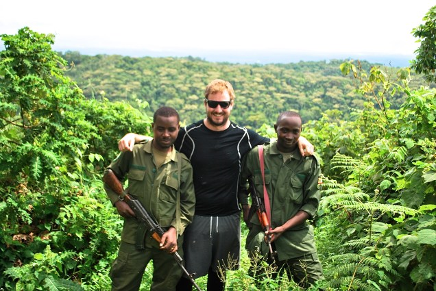 Me and the Scouts: James and Bonnie. James had been fighting against the LRA previously