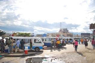 Bus station in Buj
