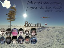 Vostok Mid-Winter greetings