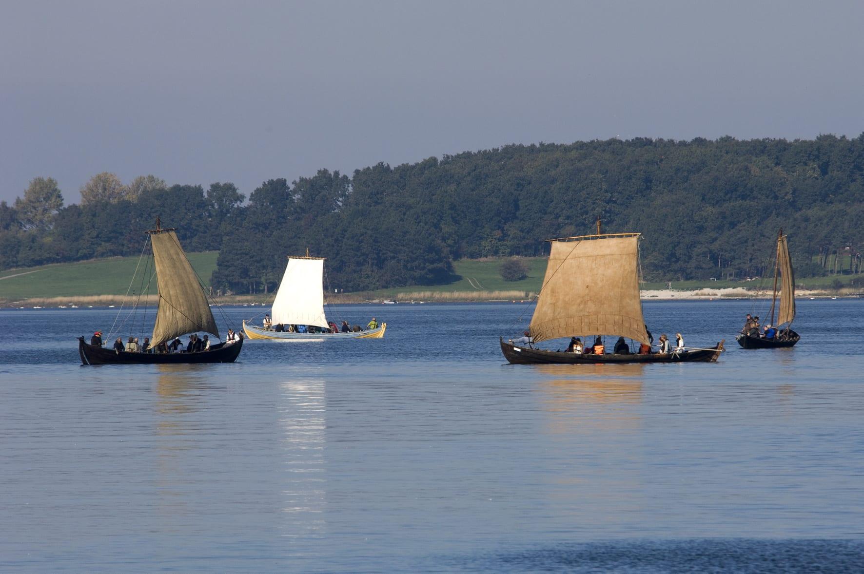Viking Ships in Roskilde