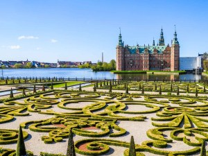 Gardens at Frederiksborg Palace