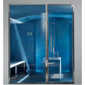 Porte SPA INOX 160 cm 80+80 cm
