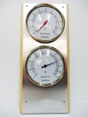 Thermomètre + hygromètre support bois WJ10