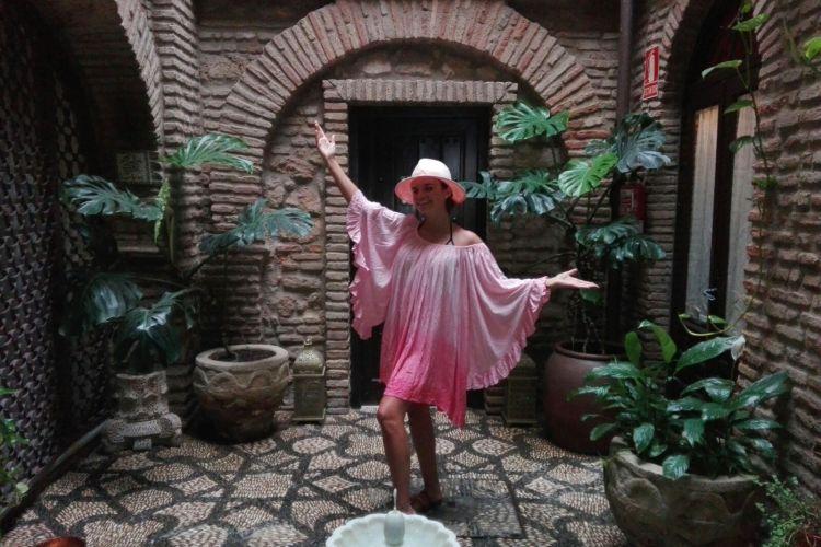 La cantante Melody visita Hammam Al Ándalus Córdoba