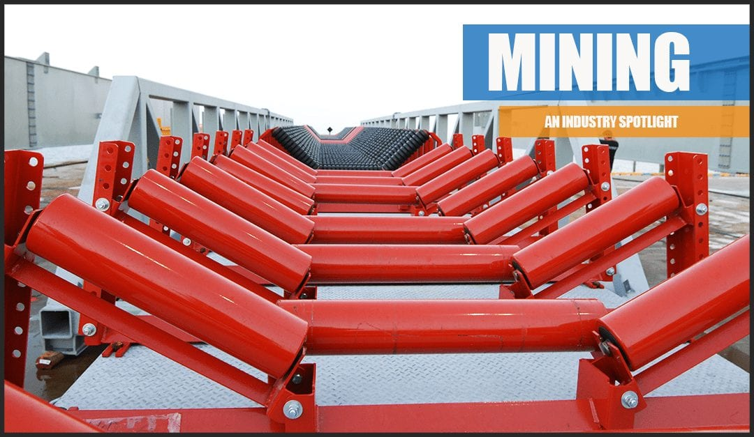 A picture of a conveyor for mining industry