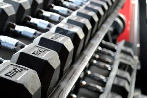 fitness, weight lifting, dumbbells